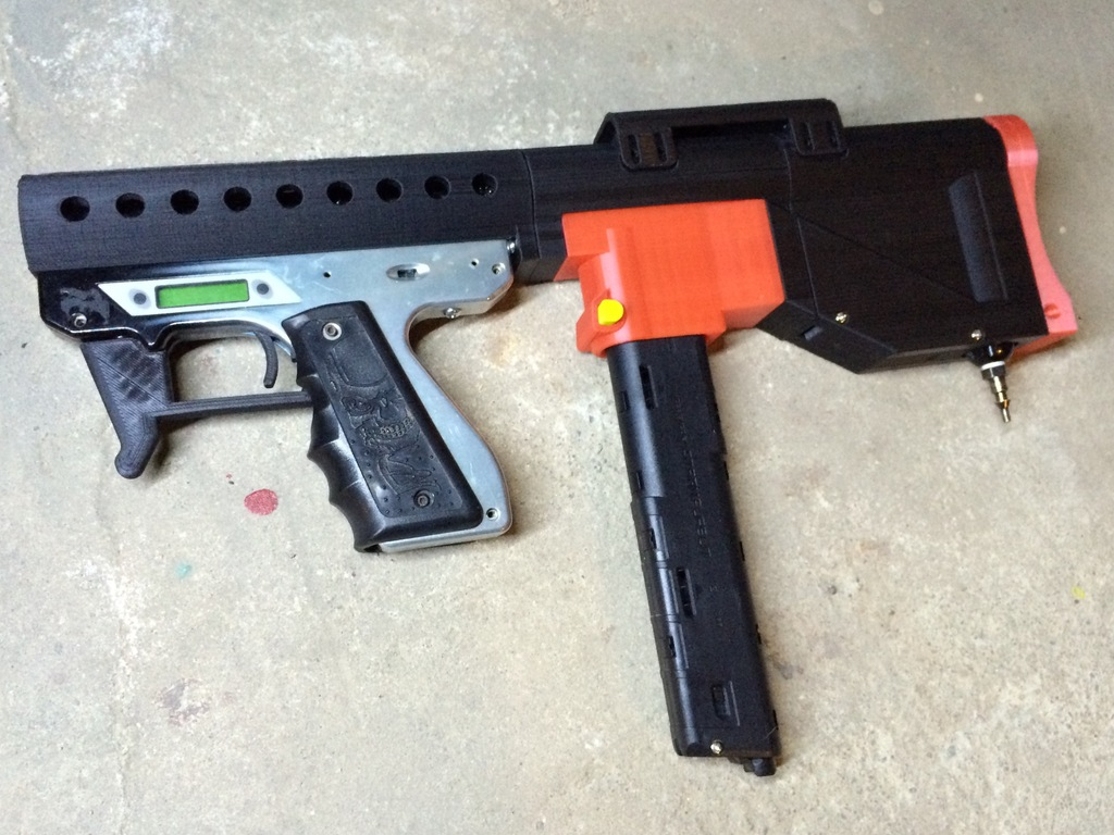 Smart Parts Ion - Magwell Adaptor by seapea - Thingiverse