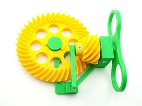 Hypoid Gear Drive Model