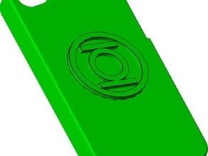 Green Lantern iPhone 4 case