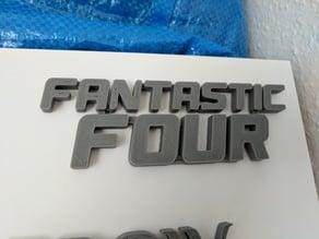 Fantastic Four Logo (Marvel)