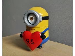 Minion Heart Gift Box