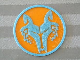 Wolf Themed Coaster Set