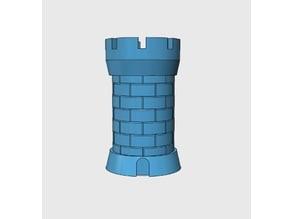 Castle Dice Container