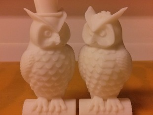 His and Her Owls (MakerWare-friendly!)
