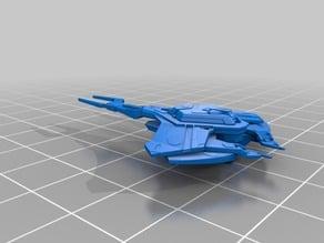 Star Trek - Cardassian Intel Science Dreadnought