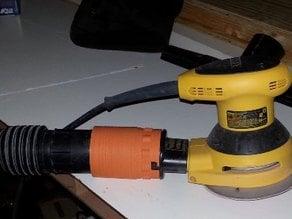 """Vacuum adapter for D26453k 5"""" DeWalt Orbital sander 2.25 outlet"""