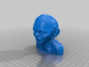 Gollum Bust