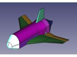 RC Space plane MIKEX-7