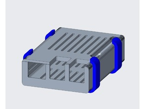 Mount for Raspberry Pi 3B+ case (detachable)
