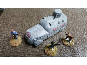 Constructora Field Car #3 Spanish Civil War 28mm