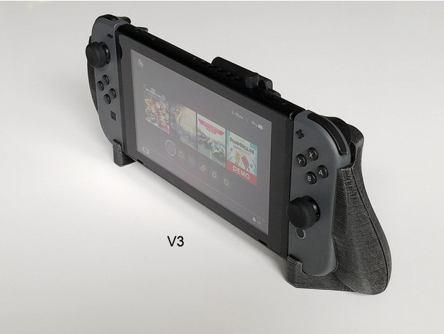 nintendo switch comfort grip by jgr526 thingiverse