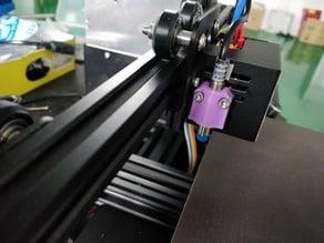 Compact M8 5V inductive Z-probe sensor mounting bracket for cr-10 ENDER-3 or similar printers