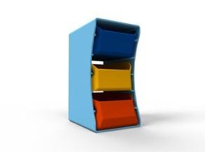 Desktop Drawer Storage