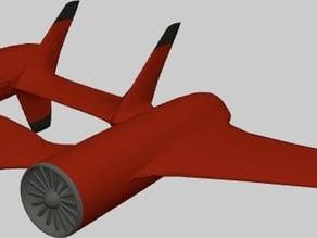 Sport jet plane