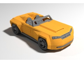 "Sports Car (Hammerhead) for 4"" action figures"