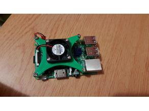 Raspberry Pi 3 Model B 30 mm Fan Mount