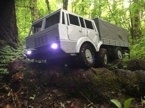 OpenRC Trial Truck - A 1:10 scale 8x8 trial truck