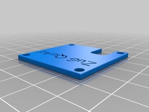 Top plate with cut out for VTX connector