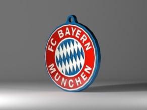 FC Bayern Munich keychain