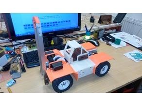 RC forklift / loader uni parts 1:10 or 1:14 4x4 model