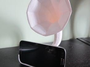 Gramosmartphone, amplifier for Samsung Galaxy S4 smartphone