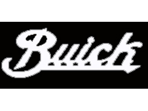 Buick script logo
