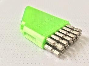 Hex Drill Bit Case (TPU) For 13Pcs Drills 6.5mm-1.5mm