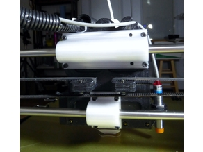Taz 4 or 5 Bearing and Extruder Holder Mods