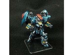 Megas XLR-inspired head for Monsterpocalypse