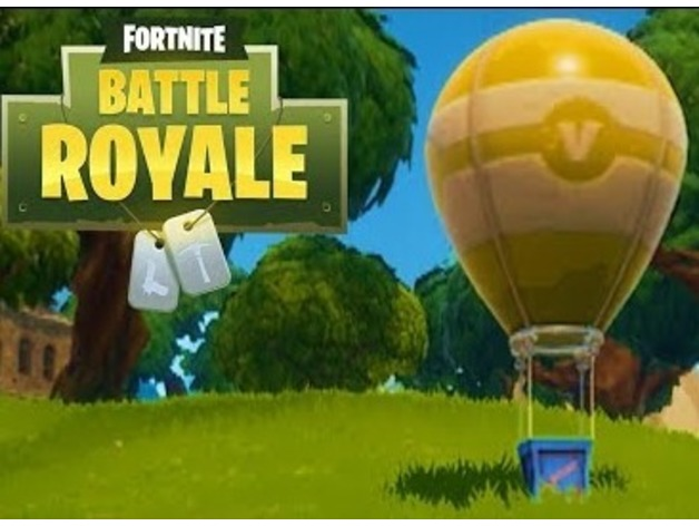 Balloon Supply Drop Fortnite Logo: Fortnite Epic Games Fait