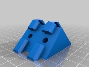 Double V-Slot Corner Bracket (Remixed from bdwalker1)