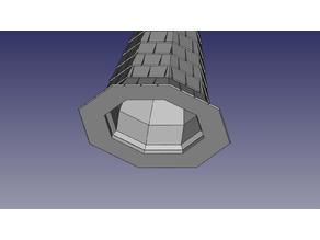 Torre 3x3 octogonal