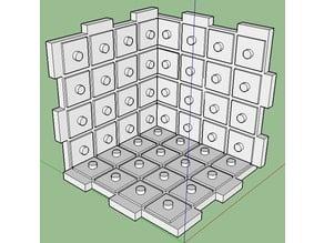 3D modular chess