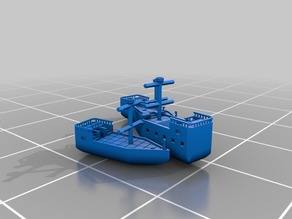 Modular 28mm Scale Ships