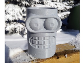 Bender Head - Planter Pot / Organizer