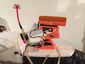 Bixler FPV tray for pan tilt mount