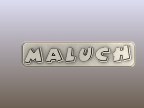 3D Maluch Amblem-Sticker for the fiat 126