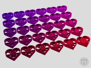 Valentine's Day Cookie Cutters - Set of 30
