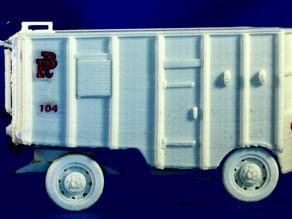 Circus Commissary Wagon No. 104