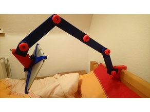 Ipad2 holder for bed