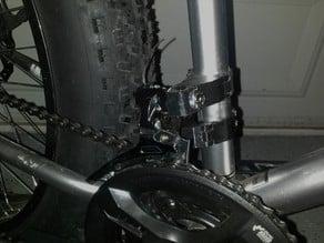Front derailleur adapter (braze on)