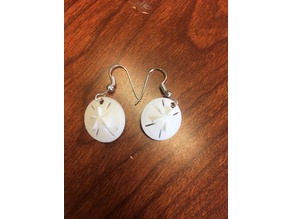 Sand Dollar Mothers Day Earring