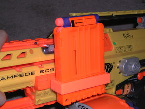 nerf clip holder for tactical rail