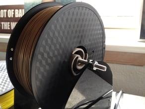 Spiral filament spool holder/hub
