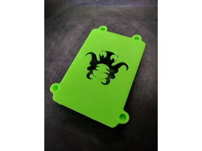 Octopi / Octoprint Pi Case (Top half) for 'Safe and Secure' Pi case