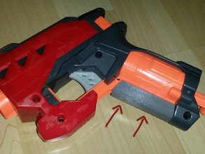 Grip for the Nerf Bigshock