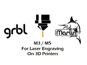 Modified Marlin Firmware CNC To Printer