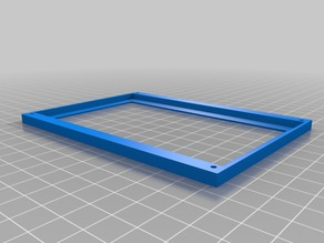 "Front Bezel for 5"" LCD panel"