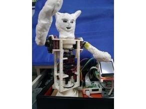 Upper body robot (frame only)