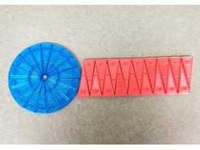 Circle Area Formula (TPU Flexible Filament), PI